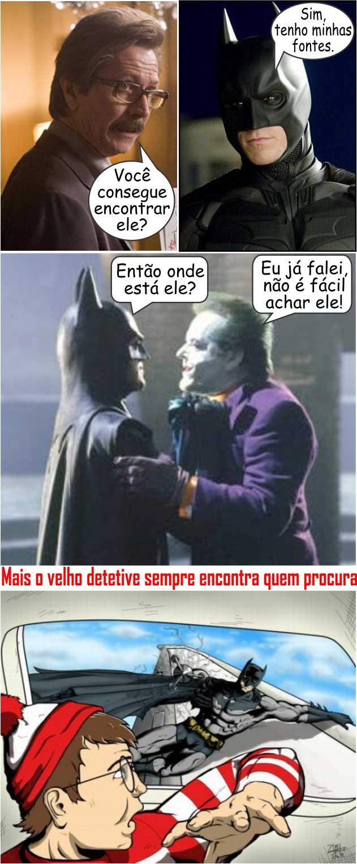 Batman Sempre Encontra Quem Procura Web Bobeira