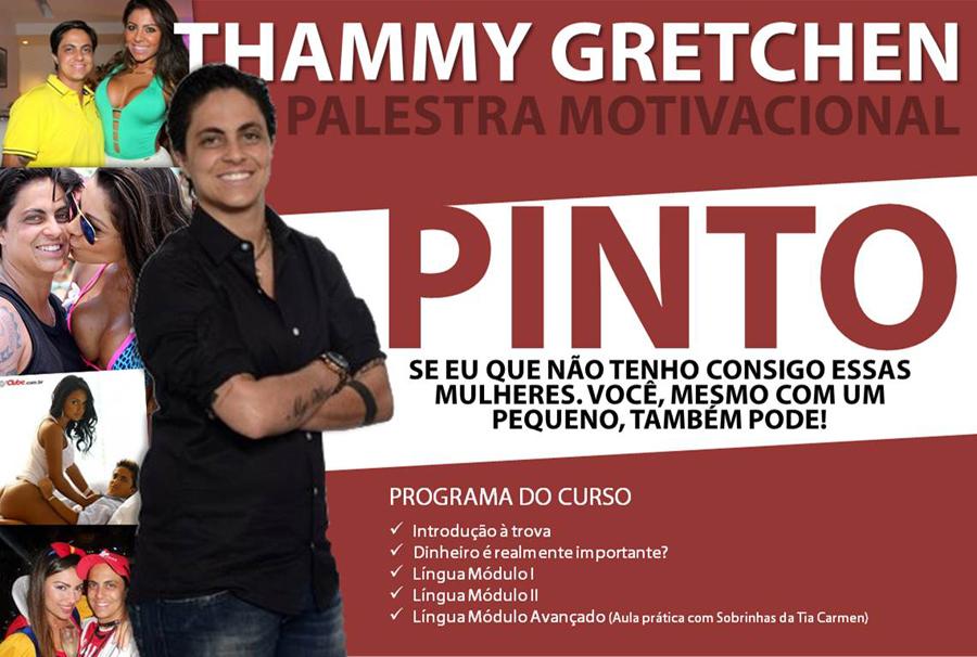 Palestra Motivacional Com Tammy Gretchen Web Bobeira